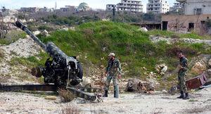 فیلم/ درگیری ارتش سوریه با تروریست ها
