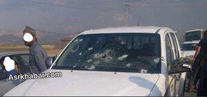عکس/ خودروی پاسداران شهید پیرانشهری
