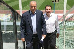 دیدار مهم تاج با رئیس فدراسیون فوتبال عراق