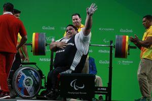 3 ایرانی رکورددار پاراوزنه برداری جهان