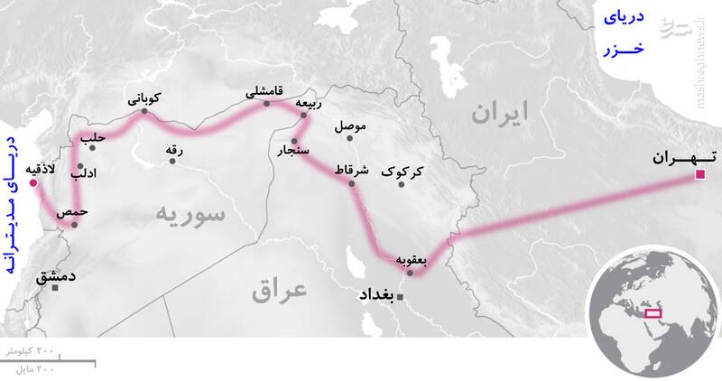 حضور نیروهای حاج قاسم پشت مرزهای رژیم صهیونیستی