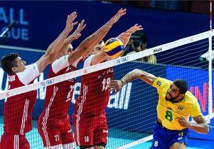والیبال لهستان برزیل