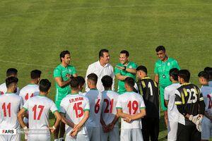 تمرین تیم ملی فوتبال المپیک ایران