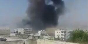 انفجار در عفرین سوریه