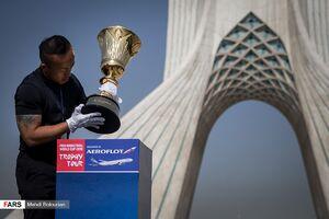 نمایش کاپ جهانی بسکتبال در تهران