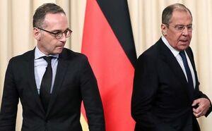 وزرای خارجه آلمان و روسیه