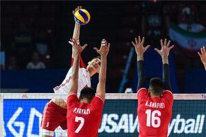 فیلم/خلاصه لیگ ملتهای والیبال؛ ایران ۱-۳ لهستان