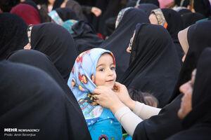 عکس/ مراسم روز عفاف و حجاب در حافظیه
