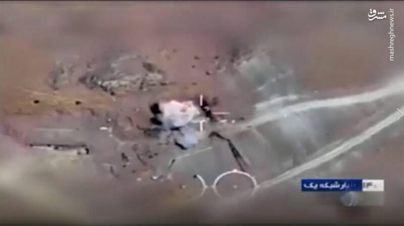اولین عملیات برونمرزی مهاجر۶ با بمبهای قائم با موفقیت انجام شد
