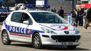 مرد فرانسوی پلیس فرانسه
