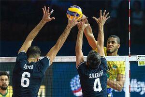 والیبال ایران و برزیل