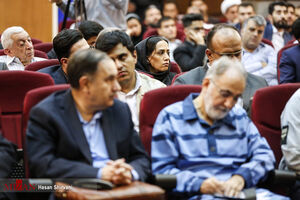 عکس/ اولین جلسه رسیدگی به پرونده قتل همسر نجفی