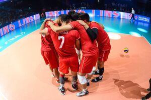 دلیل حذف ایران از لیگ ملتهای والیبال