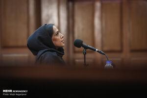 عکس/ حضور دختر و داماد نجفی در جلسه دادگاه