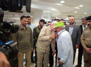 بدرقه کاروان حجاج عراقی با حضور مهندس ابومهدی
