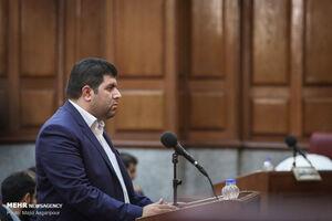عکس/ راننده محمدعلی نجفی در دادگاه