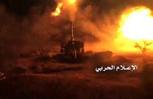 تلفات سنگین نیروهای ائتلاف سعودی در حمله موشکی ارتش یمن