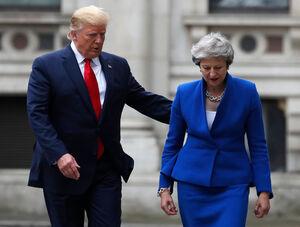 تحقیر لندن بعد از دزدی دریایی از ایران به نیابت از واشینگتن/ ترامپ: نخستوزیر انگلیس ابله است و سفیرش احمق +عکس و فیلم