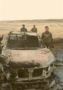 حشد الشعبی بزرگترین پایگاه داعش در دیالی را هدف قرار داد
