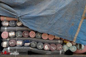 کشف ۵ میلیارد ریالی پارچه قاچاق در بازار تهران