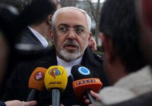 فیلم/ واکنش ظریف به ادعای ترامپ درباره پهپاد ایرانی