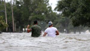 عکس/ غرق شدن لوئیزیانای آمریکا