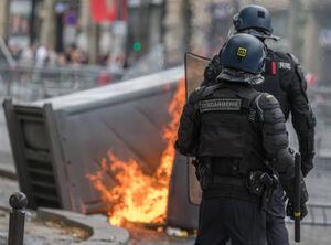 شنبههای اعتراضی فرانسه به یکشنبه کشیده شد