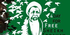 جمعی از دانشجویان و مردم در حمایت از «شیخ زکزاکی» مقابل وزارت خارجه تجمع کردند
