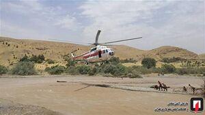 عکس/ نجات 9 نوجوان از رودخانه خروشان خجیر