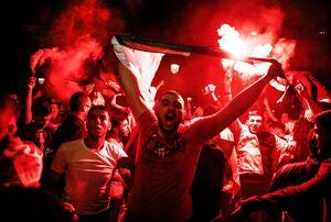 دستگیری ۲۸۲ نفر در جشن صعود الجزایر +عکس