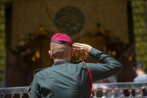 عکس/ مراسم فارغ التحصیلی نیروهای مسلح عراق در کربلا