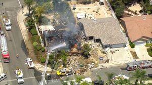 انفجار مهیب خط لوله گاز در کالیفرنیا