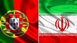 پرچم نمایه ایران و پرتغال