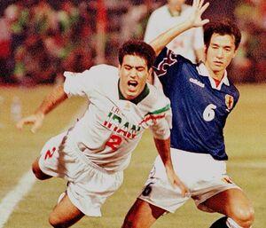 خاطره بازی AFC با دیدار کلاسیک ایران - ژاپن +عکس