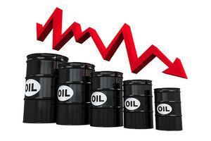 سقوط قیمت نفت خام در بازارهای جهانی