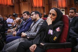 عکس/ دختر و داماد نجفی در دادگاه