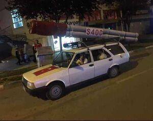 عکس/ استقبال جالب از اس 400 در ترکیه