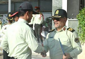 تقدیر از مأمورانی که در ماجرای پارک پلیس انجام وظیفه کردند