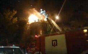 آتش سوزى در حسن آباد