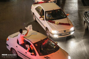 برخورد پلیس با برگزار کنندگان عروسیهای مختلط
