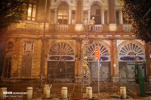 فیلم/ بافت تاریخی میدان حسنآباد پس از مهار آتشسوزی