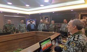 بازدید فرمانده کل ارتش از منطقه پدافند هوایی شمالغرب کشور