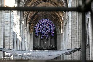 عکس/ آغاز بازسازی کلیسای نوتردام