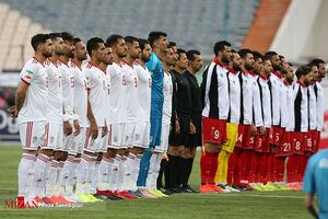 دیدار تدارکاتی تیم ملی ایران با قطر