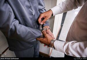 شرور سابقهدار با چاقو به جان پلیس افتاد +عکس