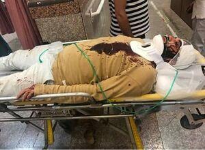 حمله ناجوانمردانه 9 نفر به یک طلبه +عکس