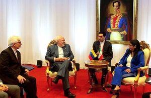 ظریف با معاون اول رئیس جمهور ونزوئلا دیدار و گفتگو کرد