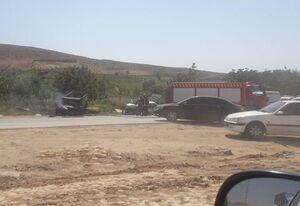 انفجار نیسان، ۳ نفر را به کام مرگ کشاند +عکس