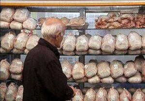 عرضه مرغ بالاتر از قیمت ۱۲۹۰۰ تومان گرانفروشی است