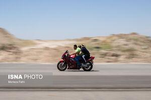 فیلم/ سرقت موتور توسط زوج تهرانی